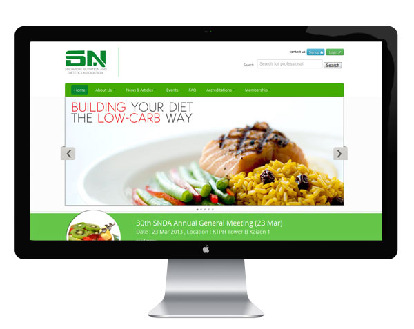 Redrobix SNDA Mobile Ready Community Website