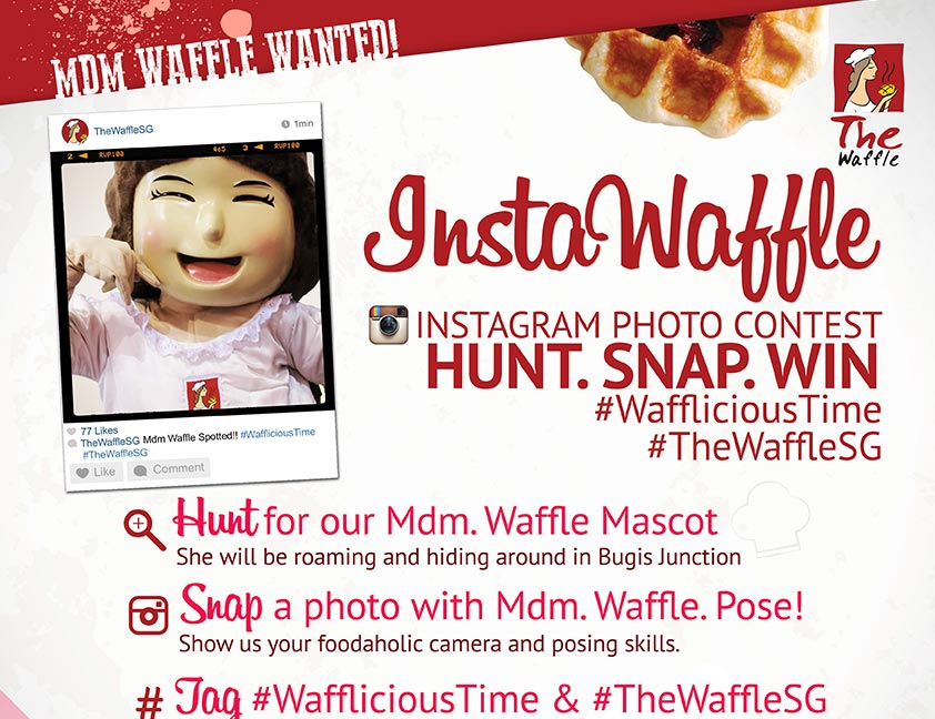 The Waffle SG Instagram Contest